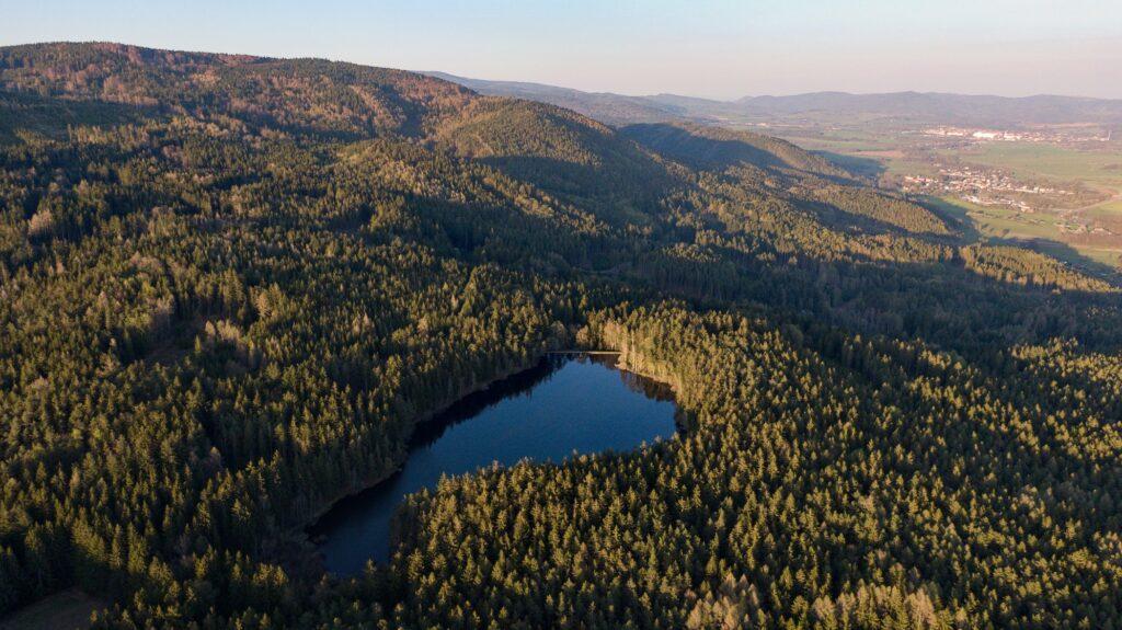Jezero Odeř.