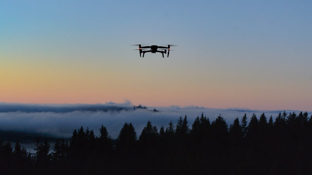 Fotíme s dronem